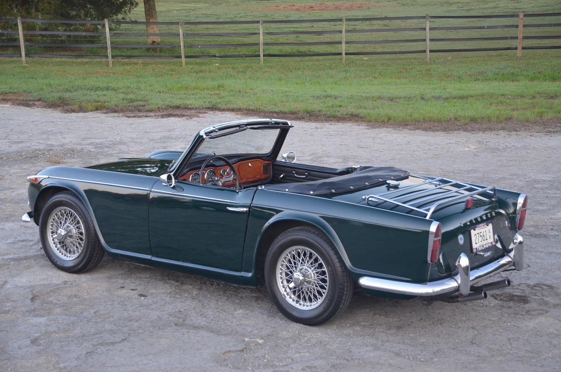 1965 Triumph Tr4 For Sale 95292 Mcg
