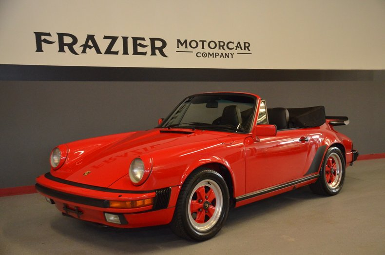 1986 Porsche 911 Carrera Cabriolet For Sale