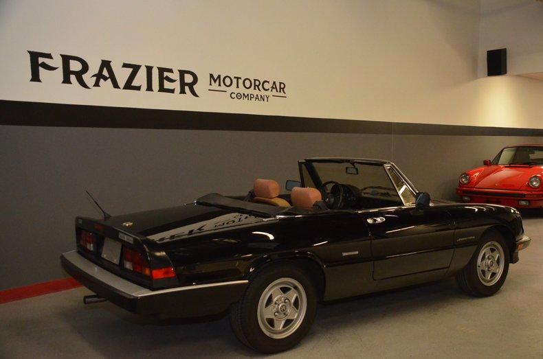 1987 Alfa Romeo Veloce spyder 5