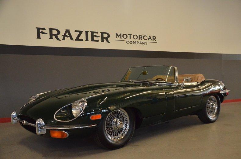 1971 Jaguar XKE OTS For Sale