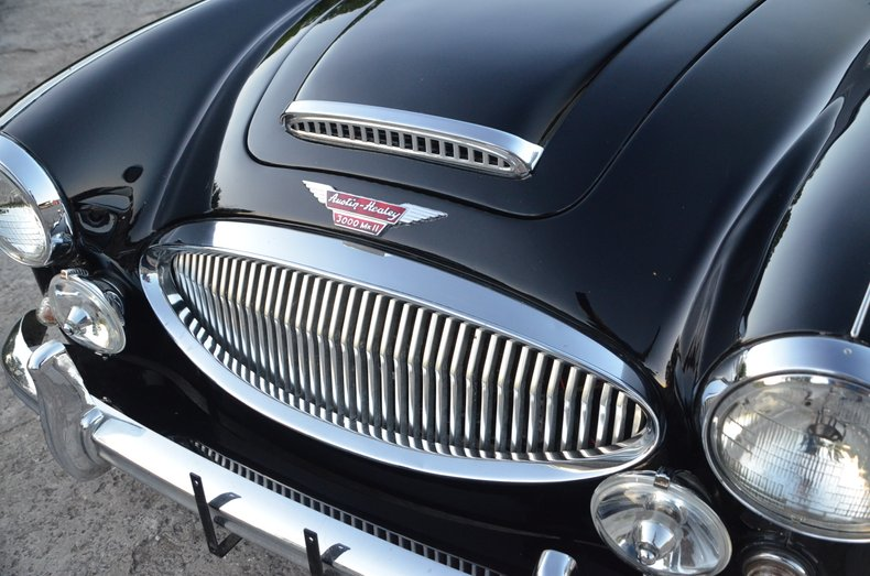 1963 Austin Healey 3000 12