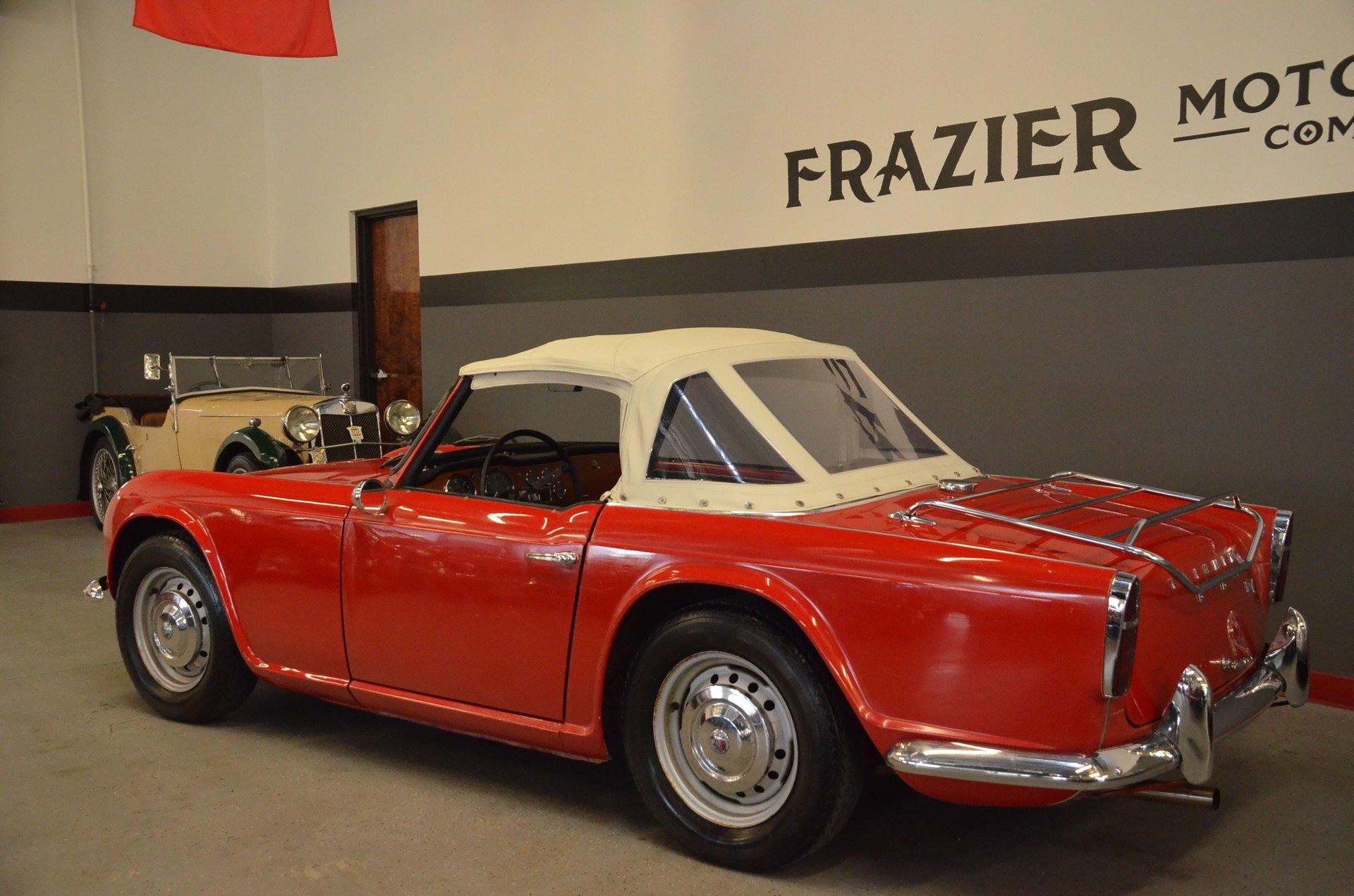 1965 Triumph TR4 for sale #127977 | MCG