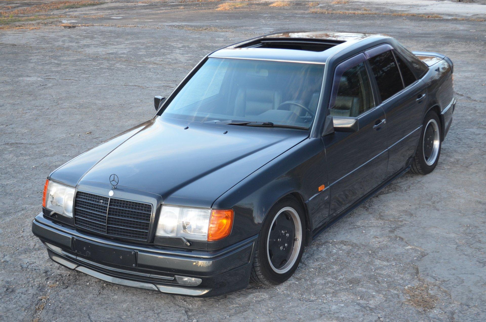 1990 mercedes benz 300e amg 3 4