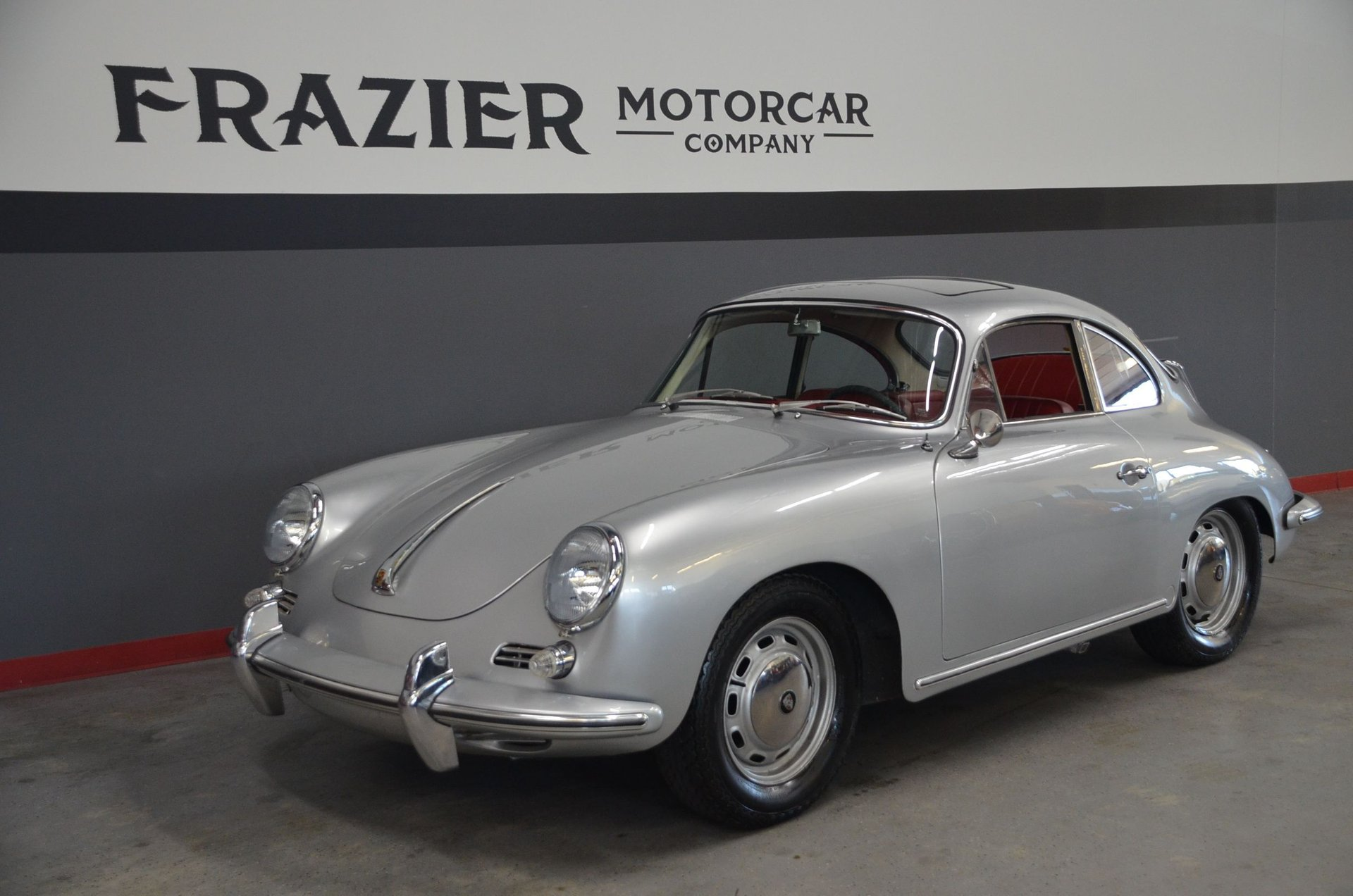1964 porsche 356 sc sunroof coupe