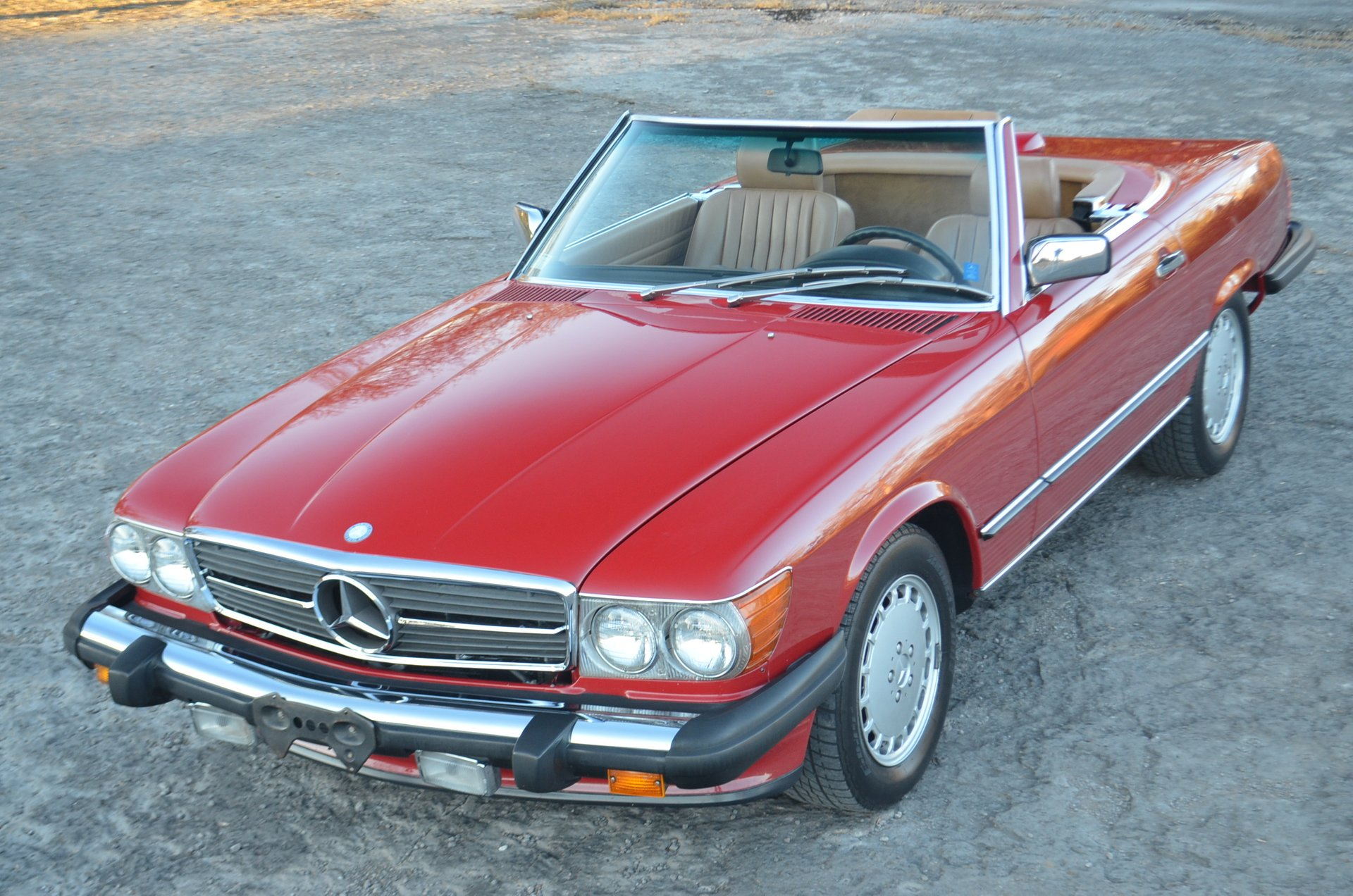 1987 mercedes benz 560sl