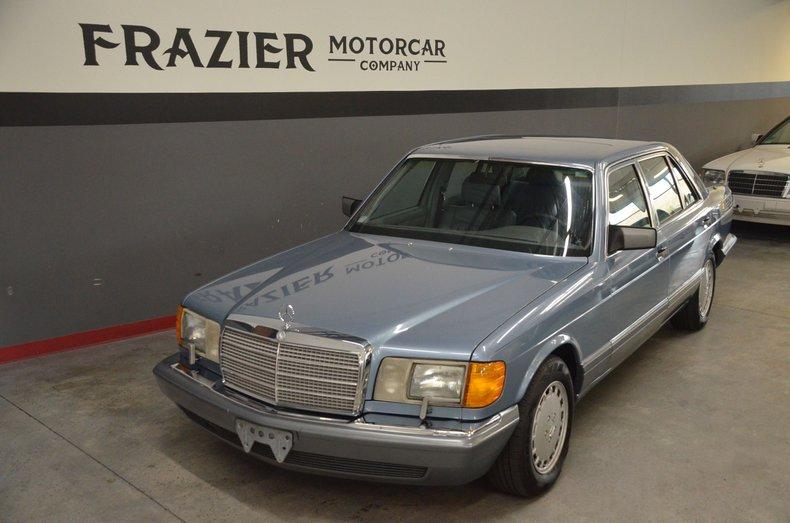 1987 Mercedes-Benz 420 SEL