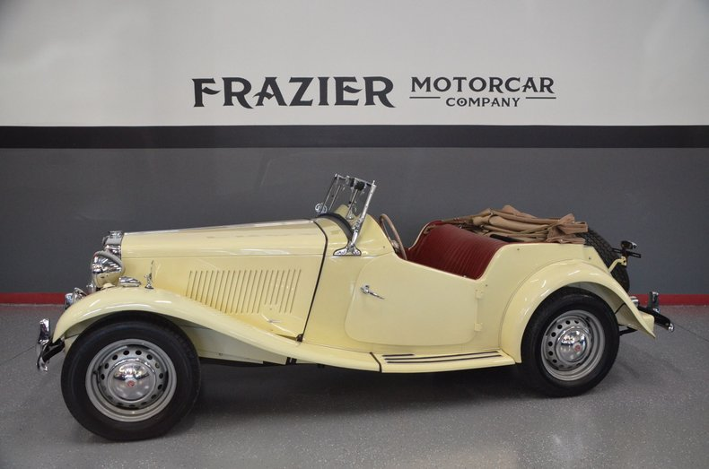 1953 MG MGTD
