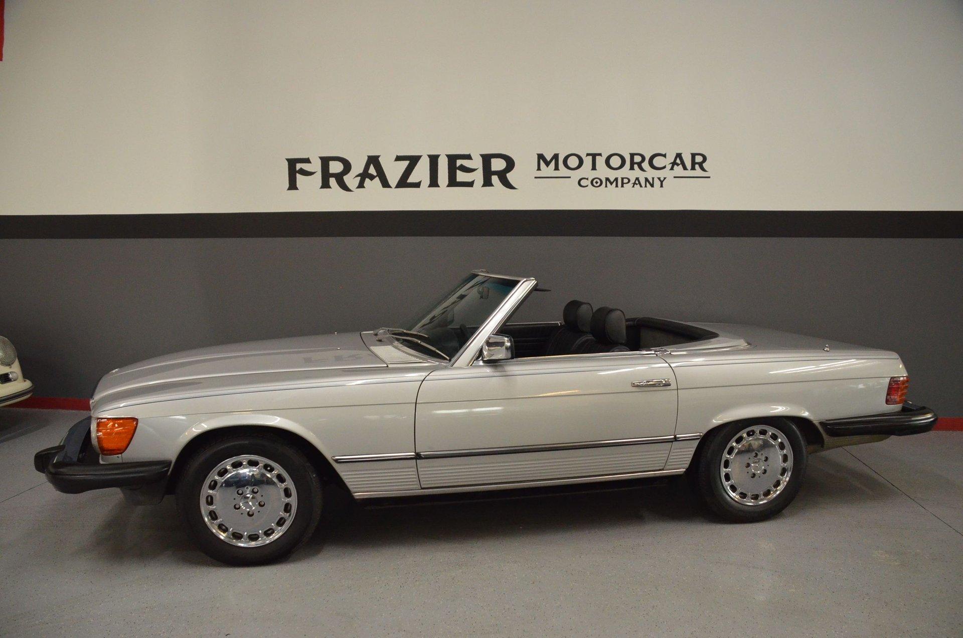 1981 mercedes benz 380 sl
