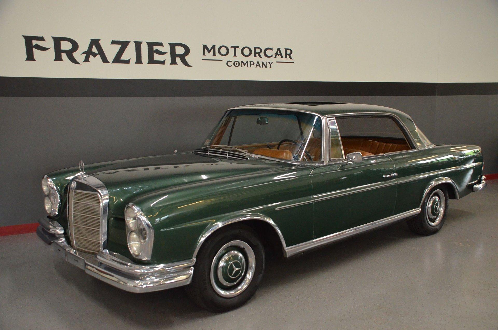 1966 mercedes benz 220 se coupe