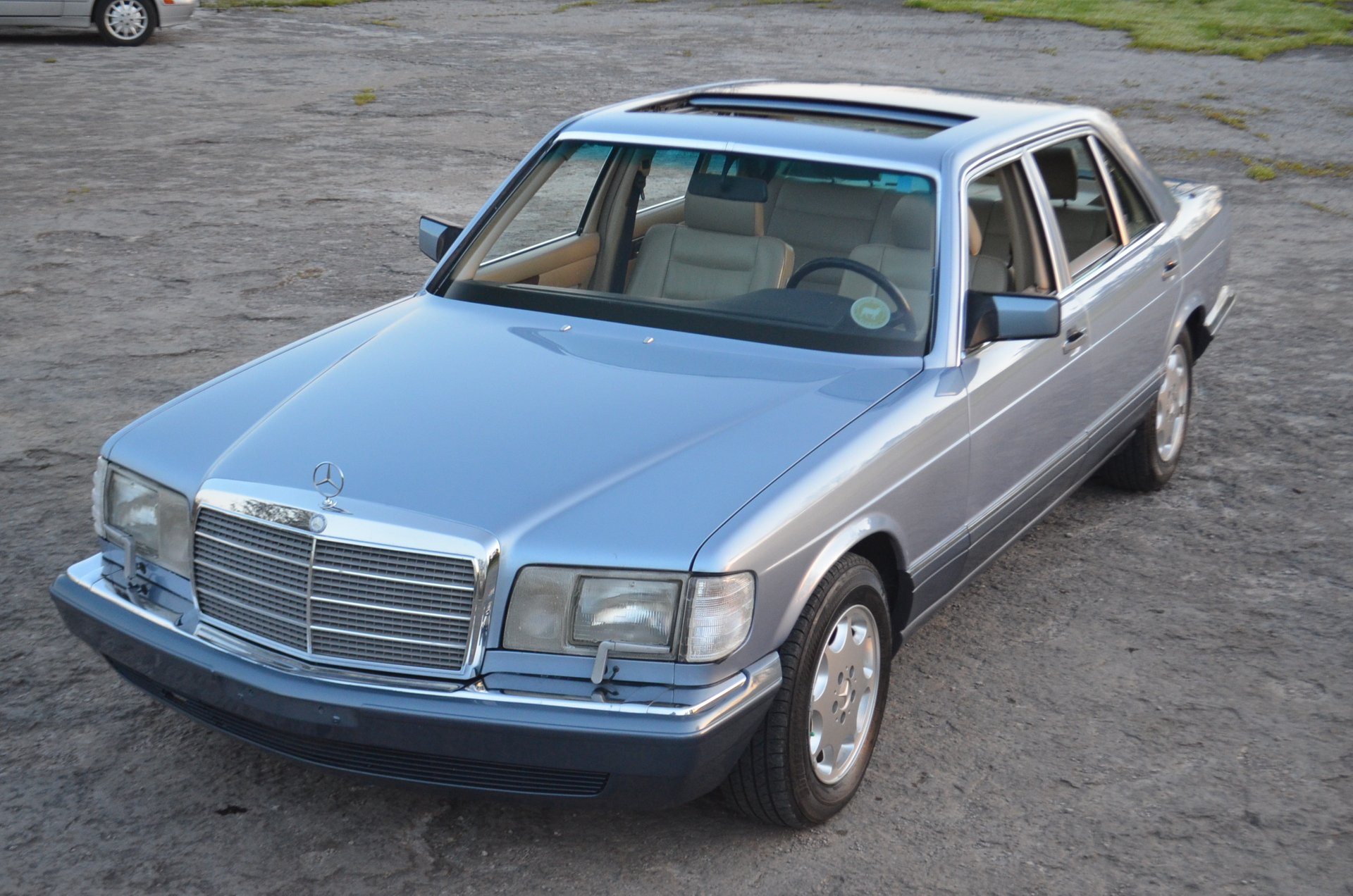 1991 mercedes benz 350 sdl