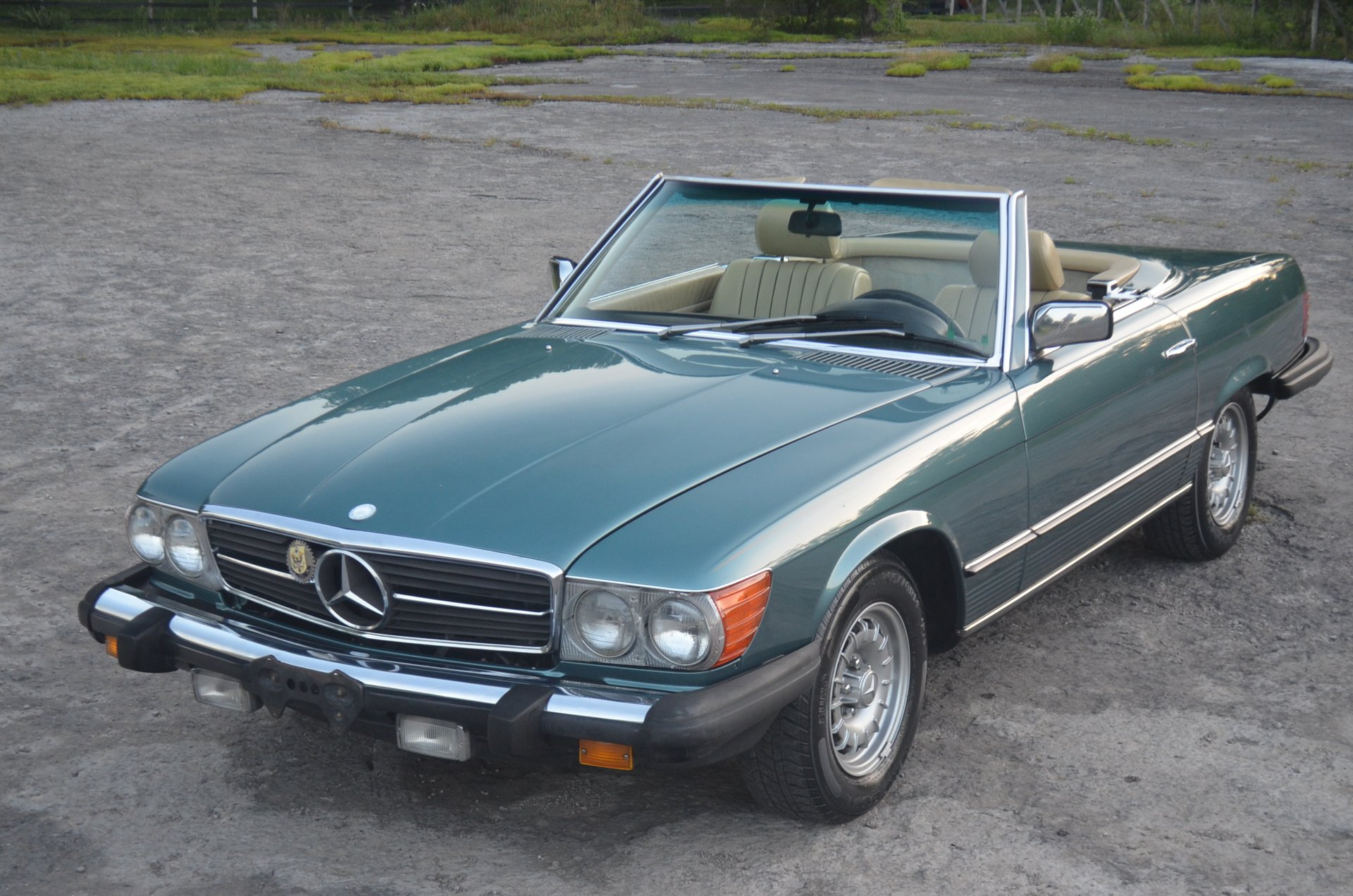 1984 mercedes benz sl380