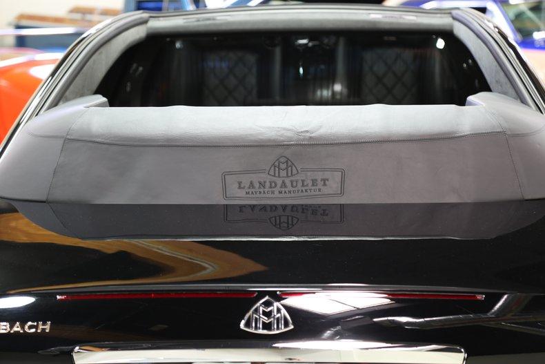 2012 Maybach Landaulet/62s