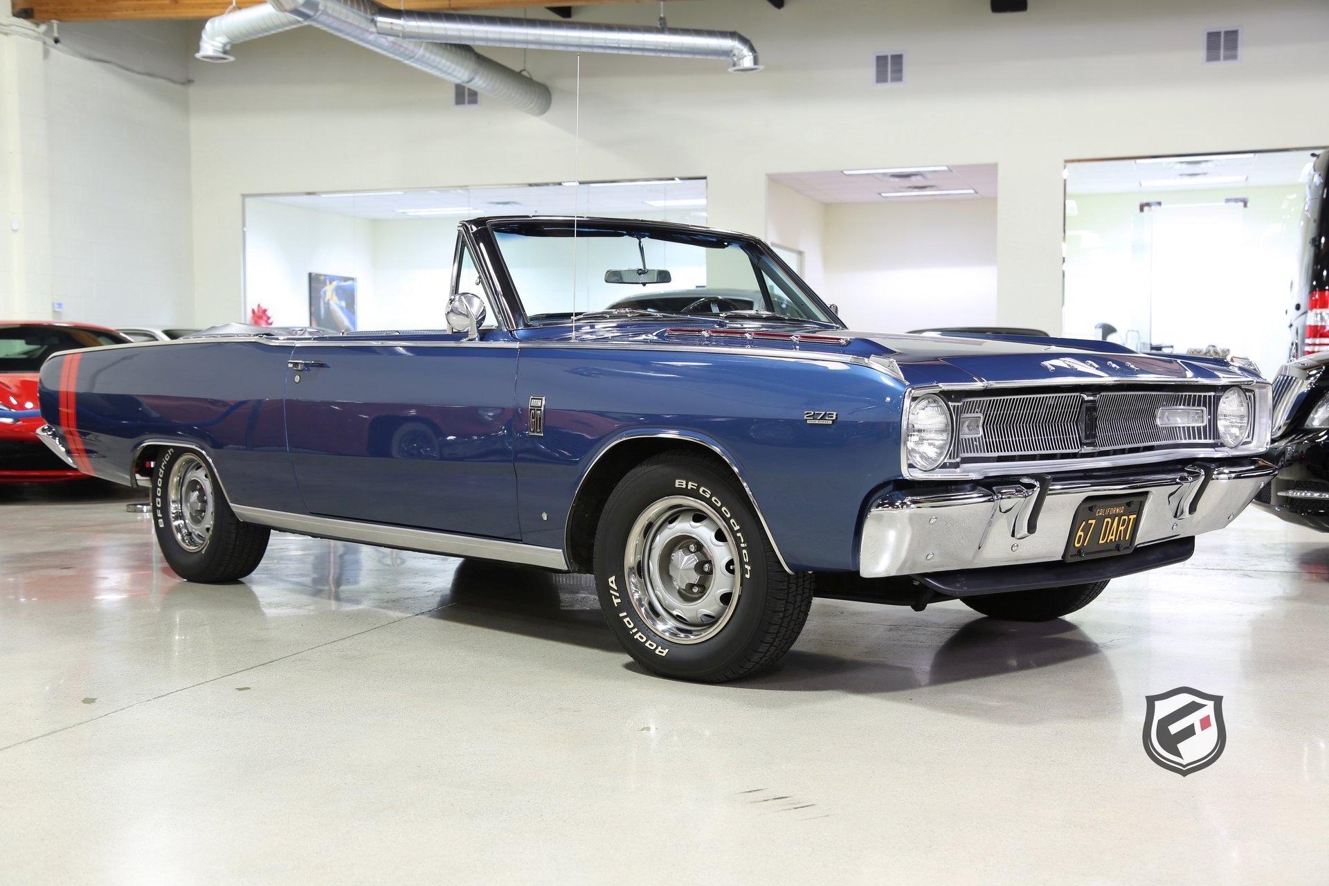 1967 Dodge Dart >> 1967 Dodge Dart Fusion Luxury Motors