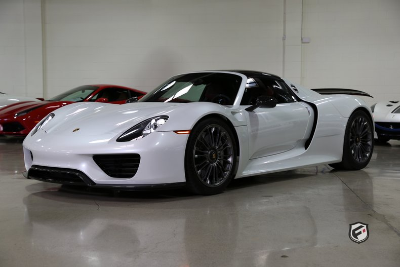 2015 Porsche 918 Spyder Fusion Luxury Motors