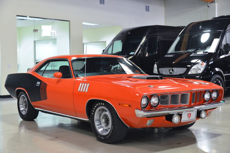 1971 plymouth cuda hemi 4 speed
