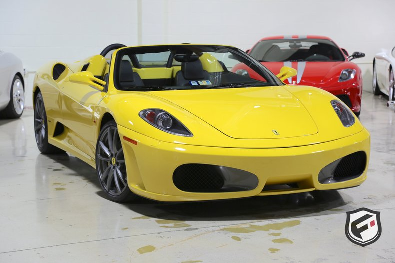 2006 ferrari f430 spider 6 speed manual