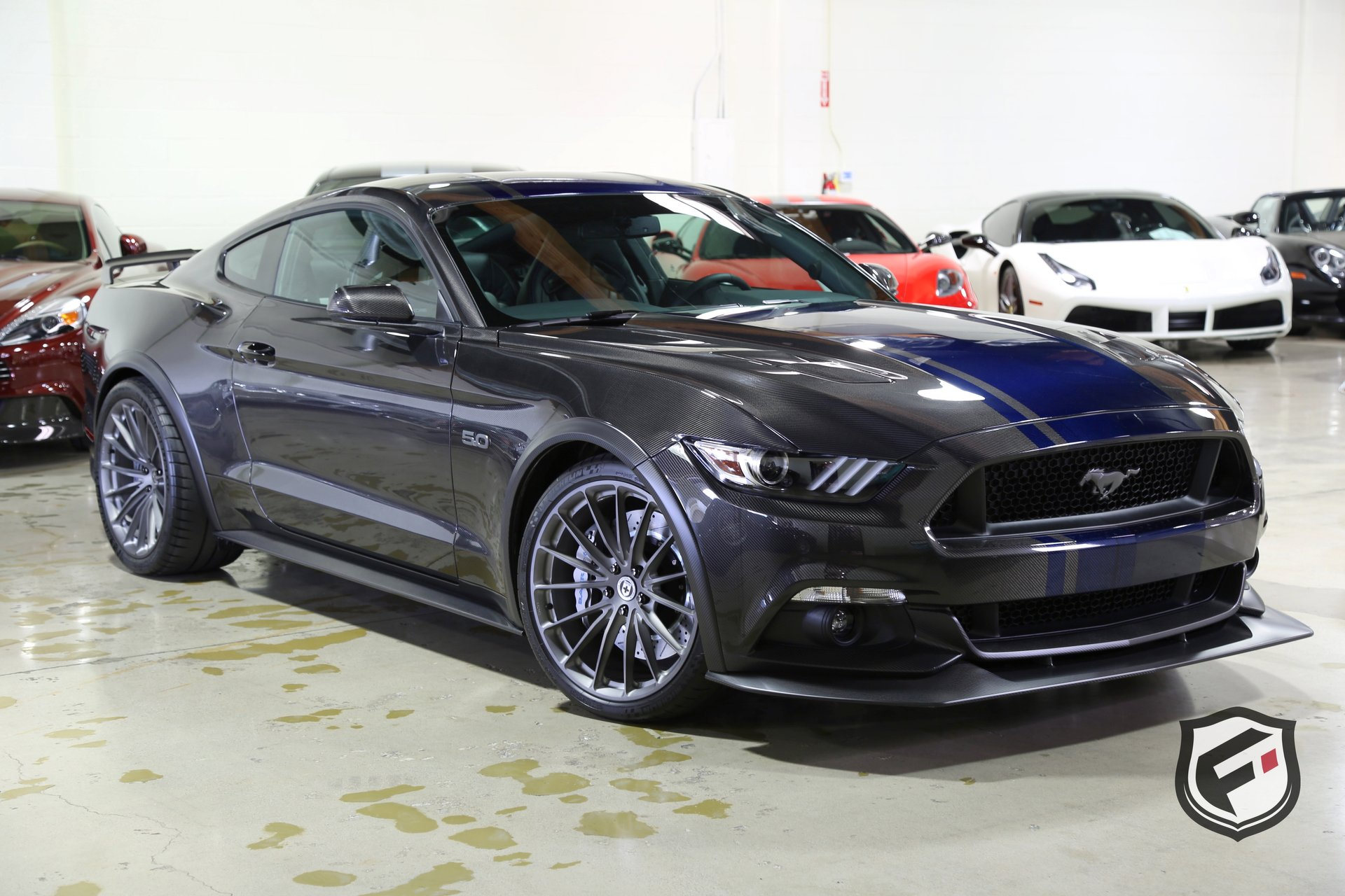 2017 ford mustang gt full carbon fiber
