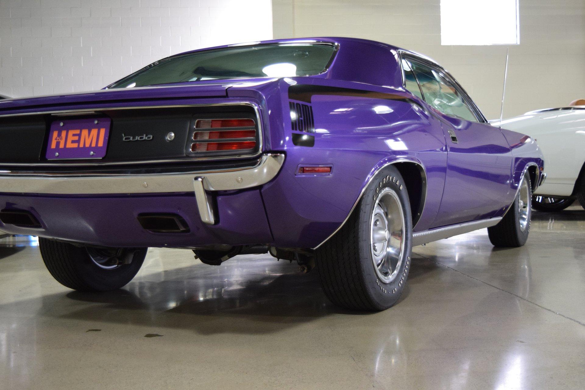 1970 Plymouth HEMI 'Cuda for sale #52932 | MCG