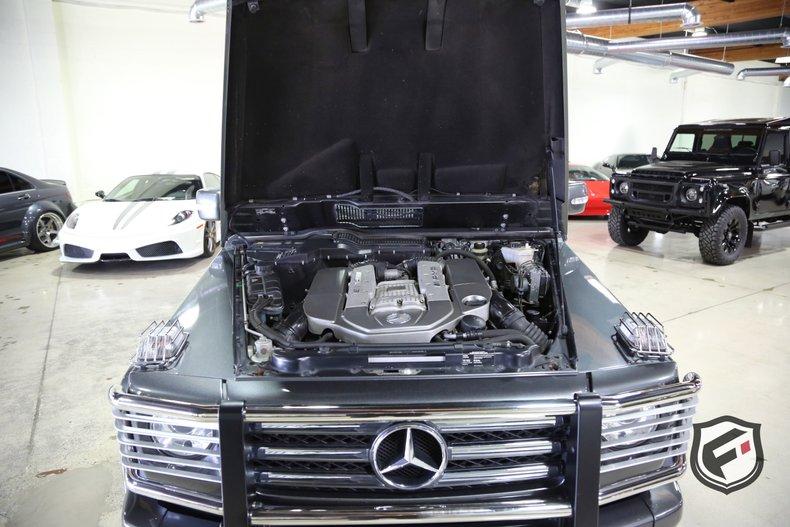 2011 Mercedes-Benz G55