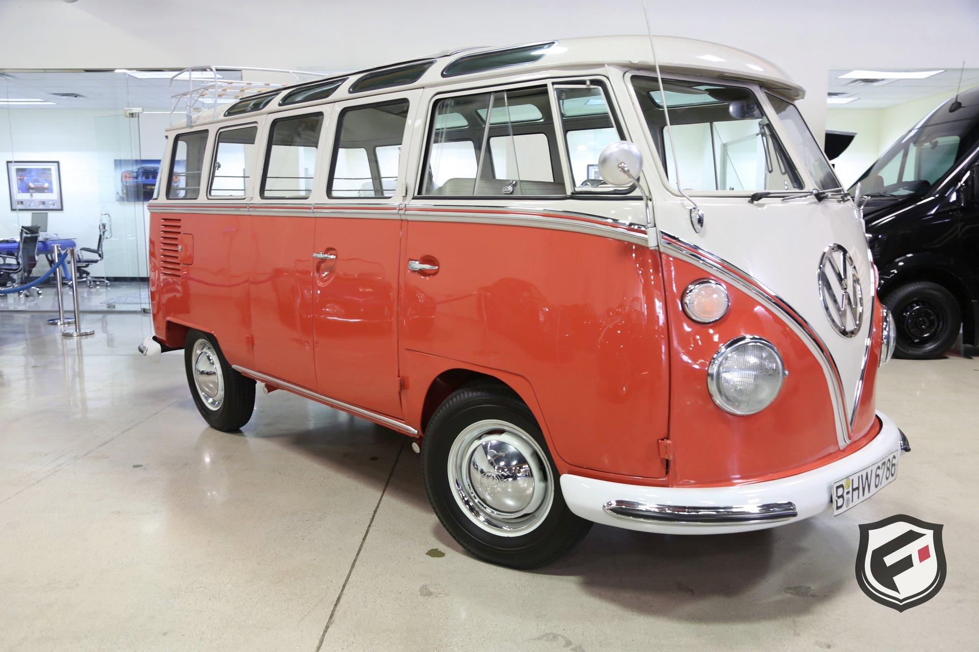 1963 Volkswagen 23 Window Samba Bus Fusion Luxury Motors