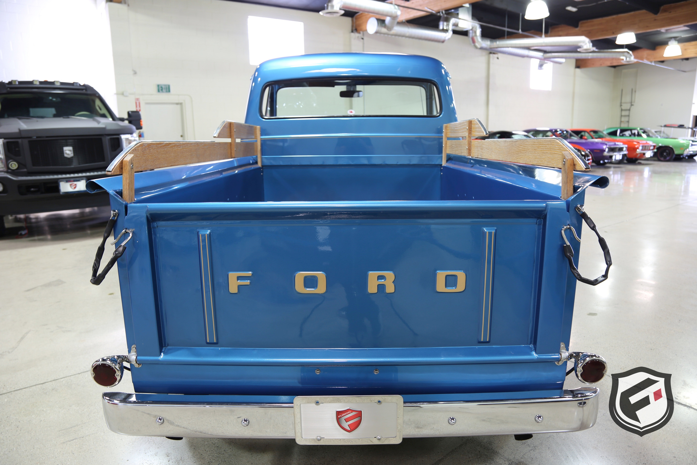 1954 Ford F100 Fusion Luxury Motors 1956 Brake Wiring