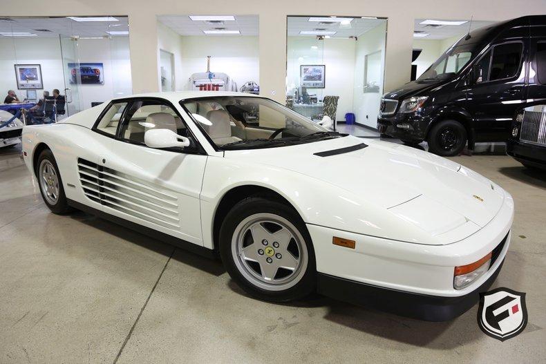 1989 Ferrari Testarossa For Sale