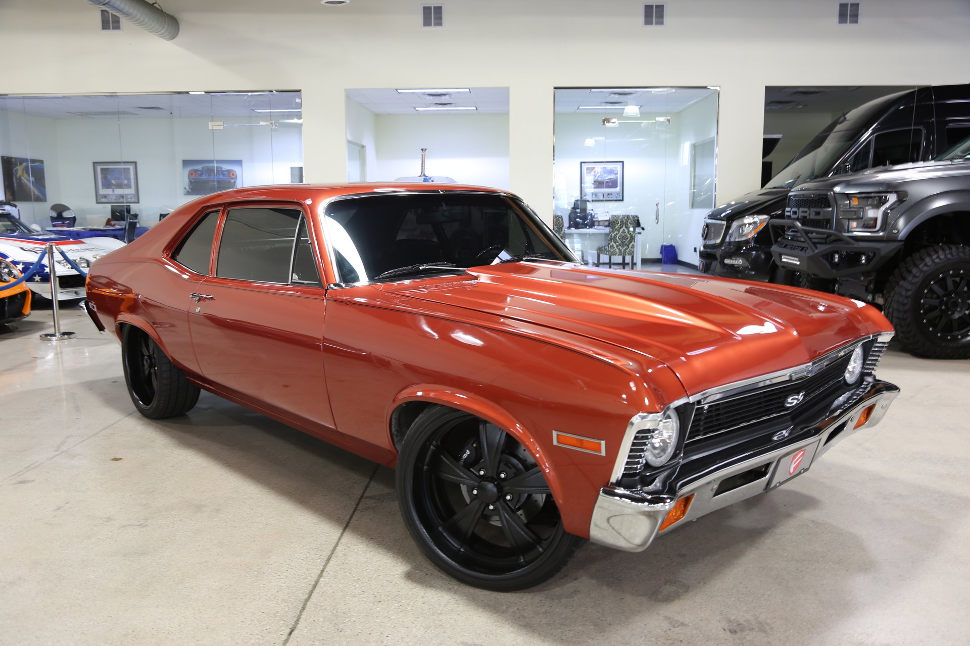 1972 Chevrolet Nova Fusion Luxury Motors