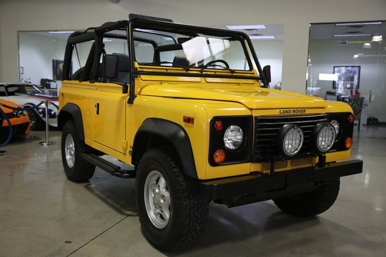 1997 land rover defender 90 2dr convertible soft top