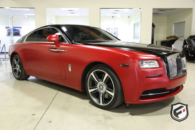 2014 rolls royce wraith 2dr coupe