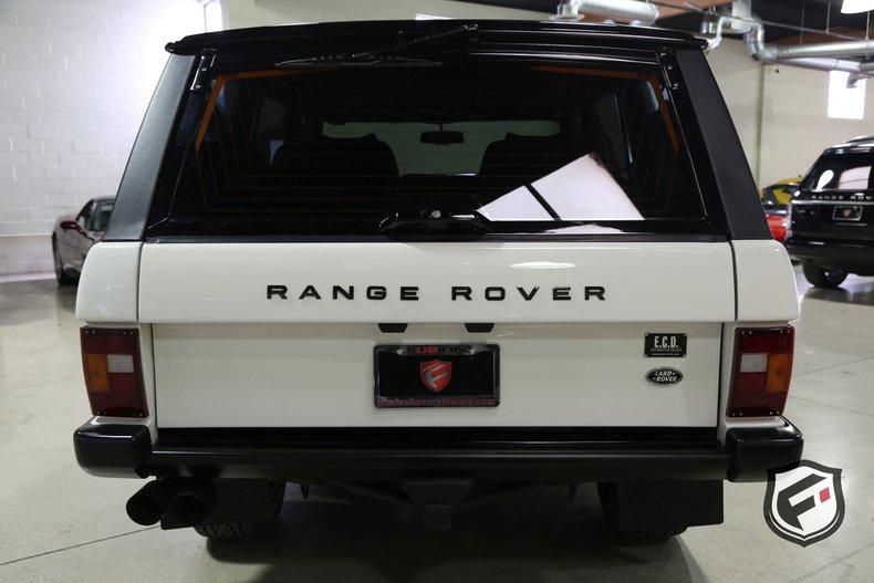 1994 Land Rover Range Rover Fusion Luxury Motors