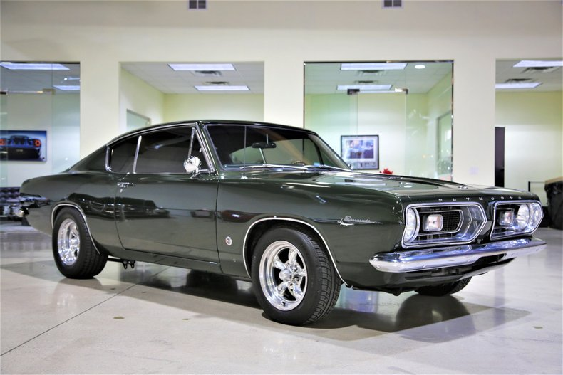 1967 Plymouth BARRACUDA FORMULA S COUPE