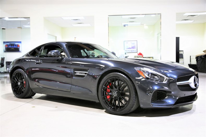 2016 mercedes benz amg gt 2dr cpe s