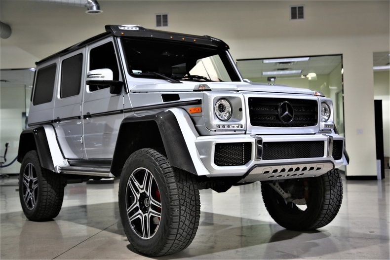 2017 mercedes benz g class g 550 4x4 squared suv