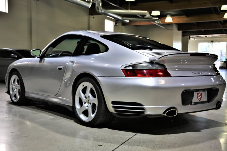 2003 Porsche 911 TURBO 6-SPD MANUAL