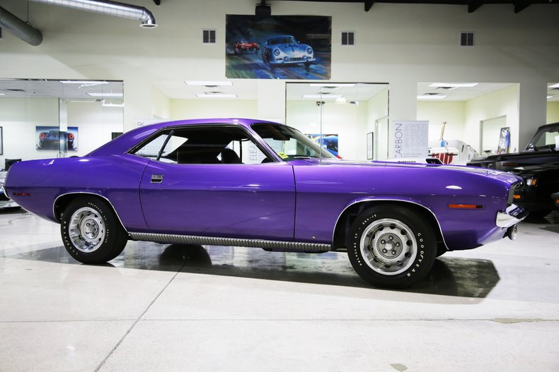 1970 plymouth cuda 440 6 pack 4 speed