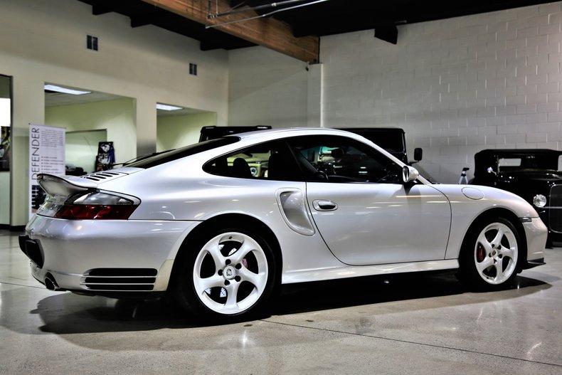 2003 Porsche 911 TURBO 6-SPD MANUAL