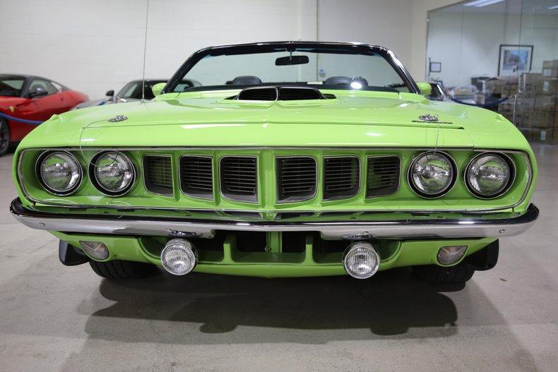 1971 Plymouth HEMI CUDA CONVERTIBLE