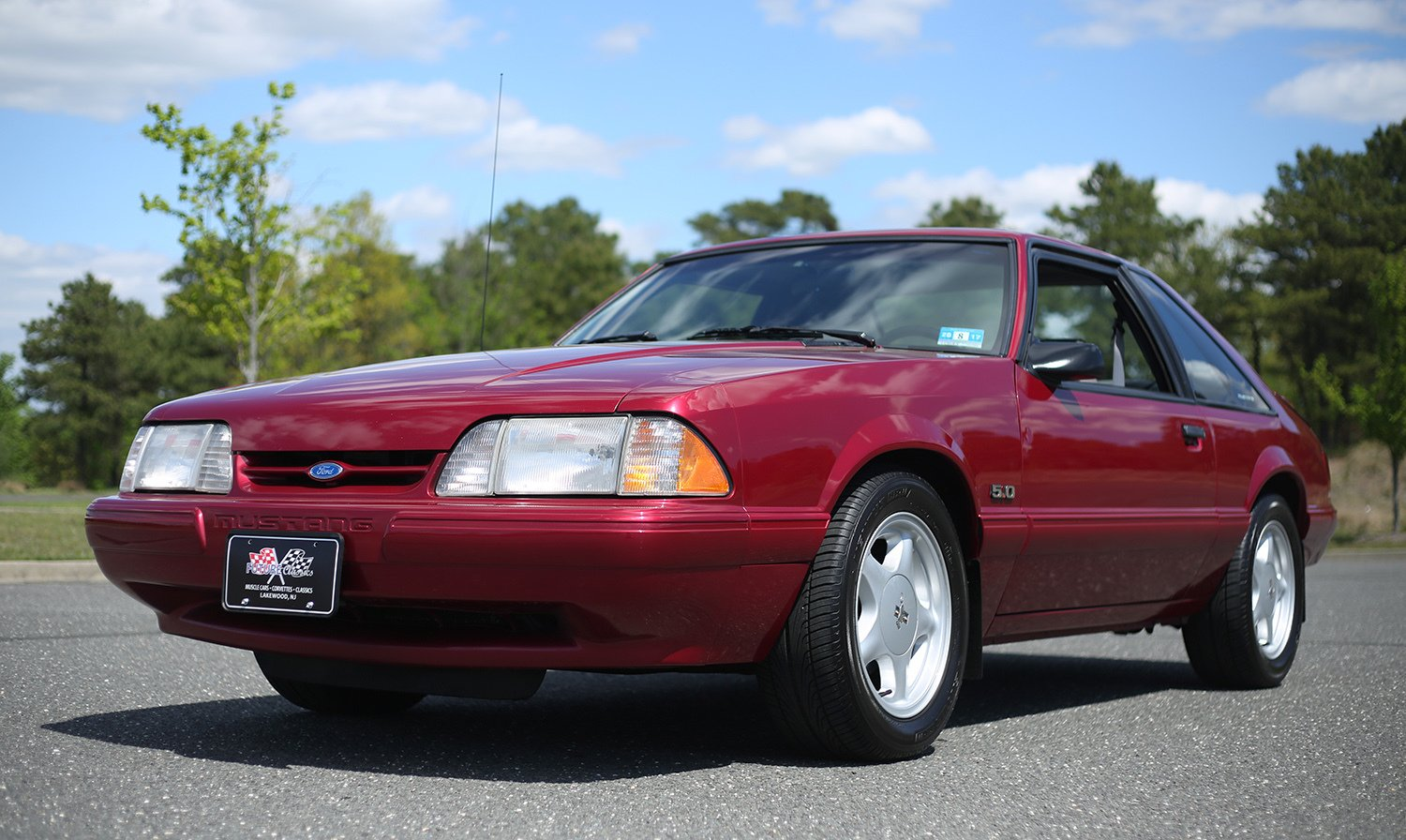 1993 ford mustang lx for sale 52397 mcg