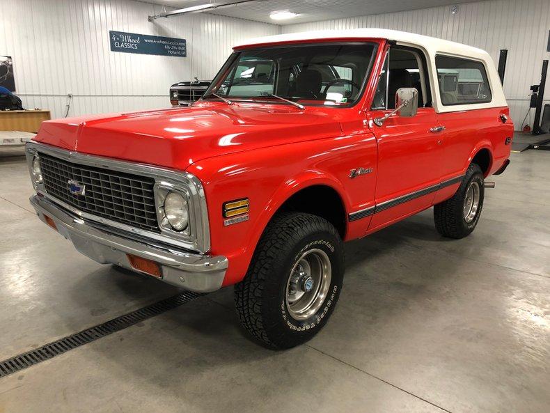 1972 Chevrolet K-5 Blazer