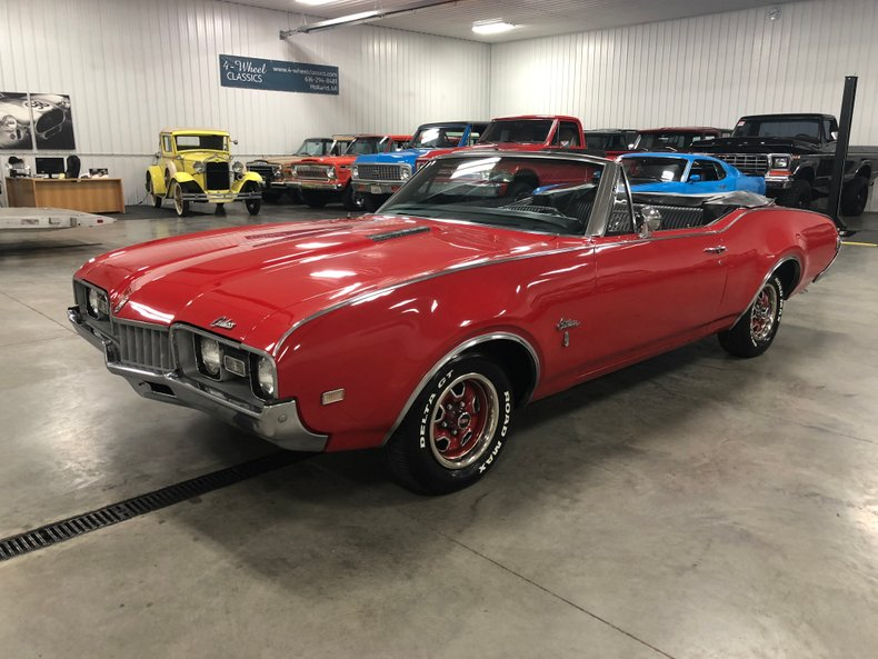 1968 Oldsmobile Cutlass Convertible for sale #94575 | MCG