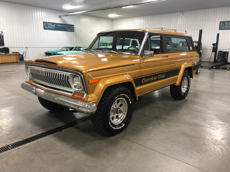 1978 jeep cherokee chief for sale 102329 mcg. Black Bedroom Furniture Sets. Home Design Ideas
