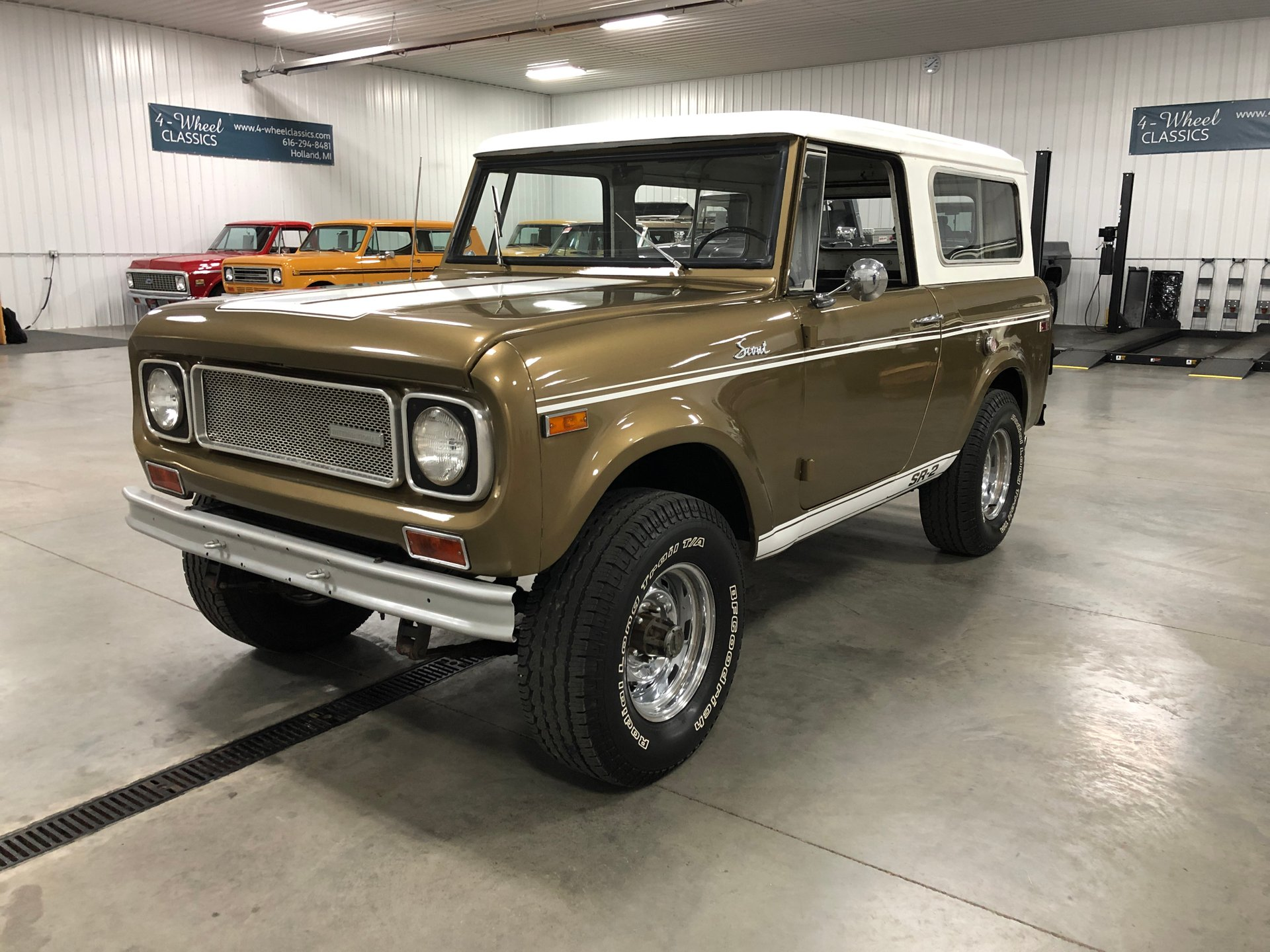 1970 international scout 800 sr2