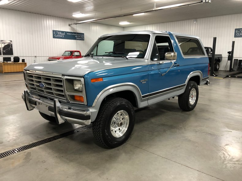 1984 Ford Bronco For Sale