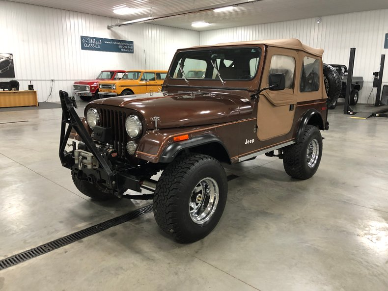 1979 Jeep CJ-7 For Sale