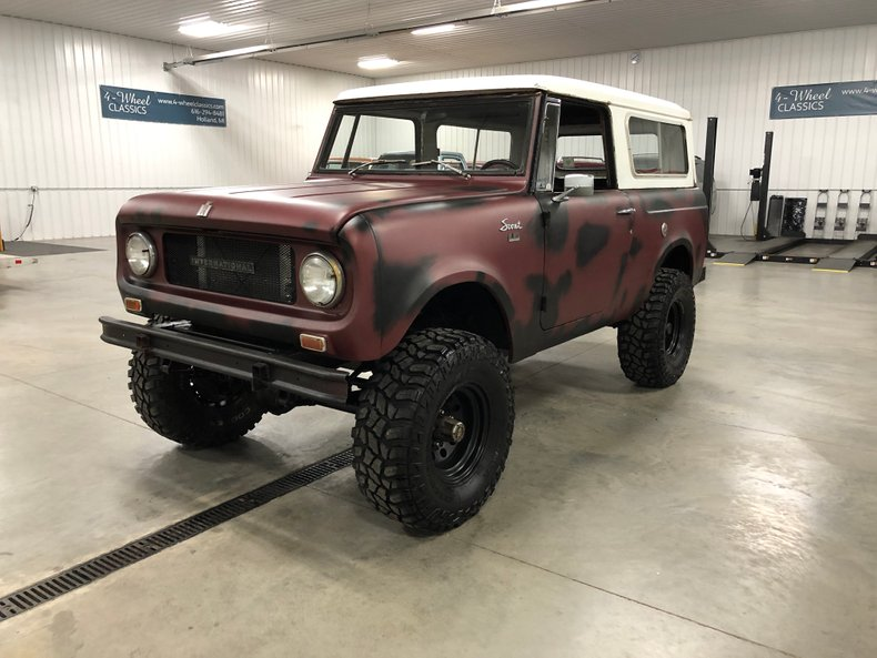 1966 International Scout 800