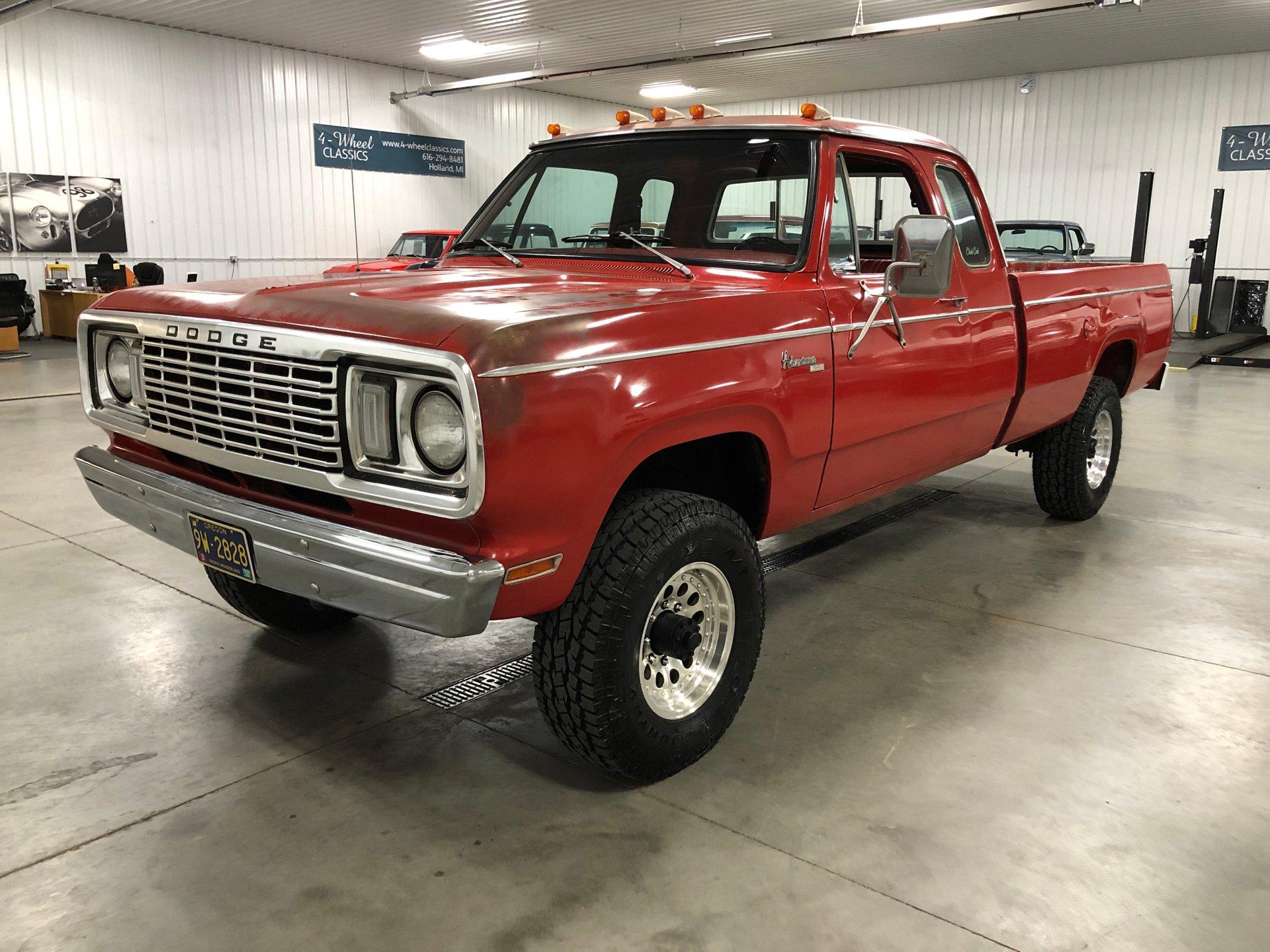 1978 dodge w200 pickup