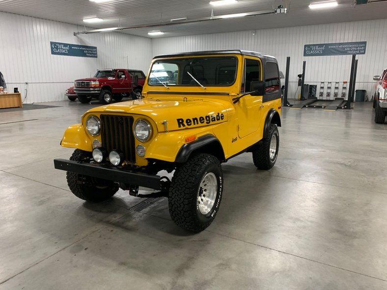 1976 Jeep CJ-7 For Sale