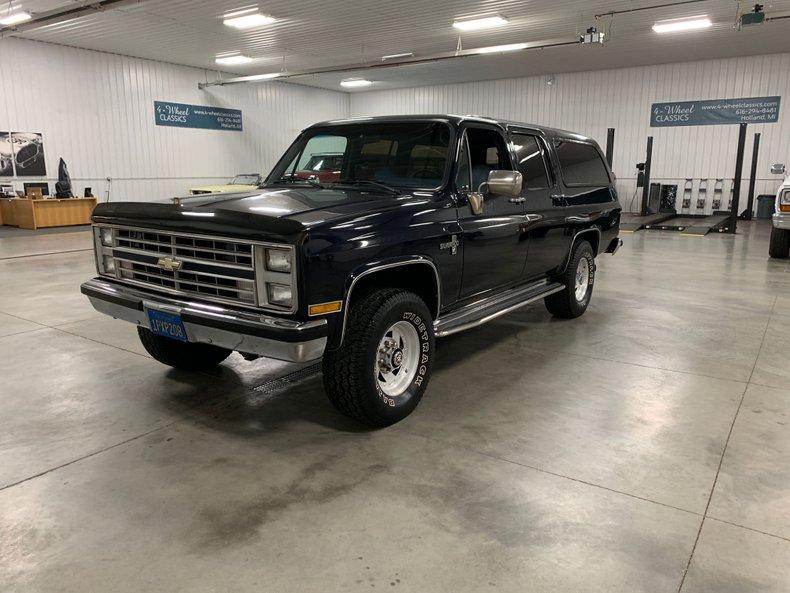 1986 Chevrolet 3/4 Ton Suburban
