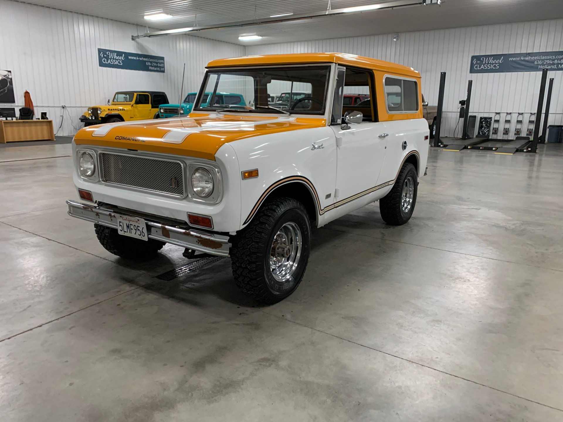 1971 international scout 800 commanche