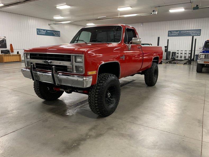 1986 Chevrolet Silverado K-20